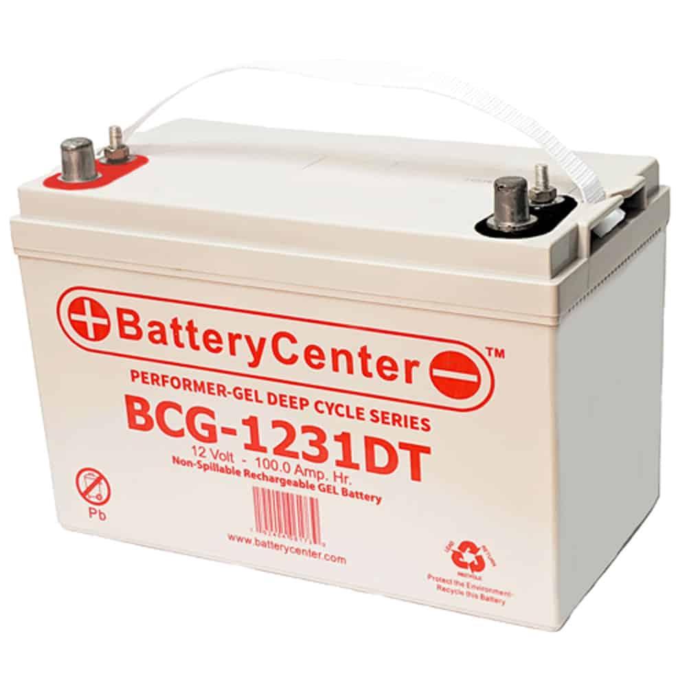 12v 100Ah Deep Cycle Gel Battery