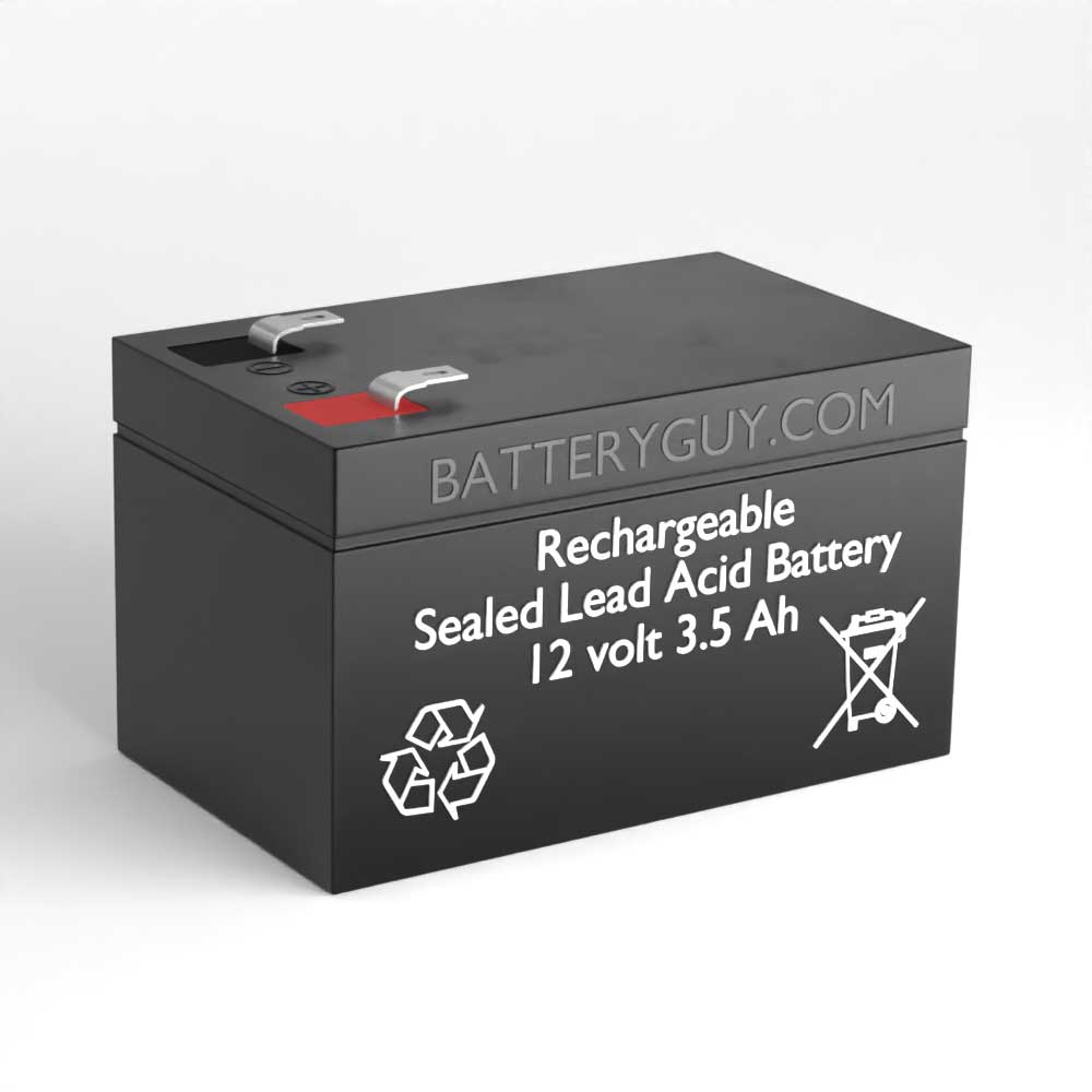 12v 3.5Ah High Rate Rechargeable Sealed Lead Acid (Rechargeable SLA) Battery