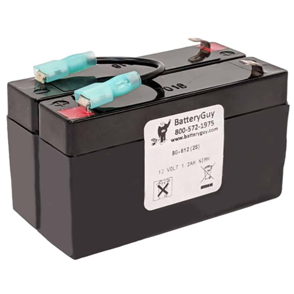 12V 1.2Ah Rechargeable Sealed Lead Acid (Rechargeable SLA) Battery | BG-612(2S)