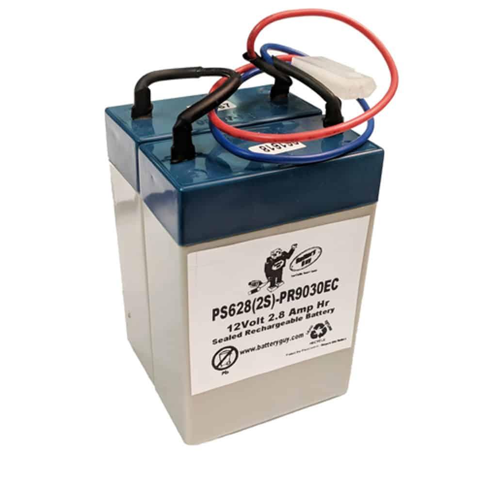 Power-Sonic PS-628(2S)-PR9030EC | Rechargeable SLA Battery 12V 2.9Ah