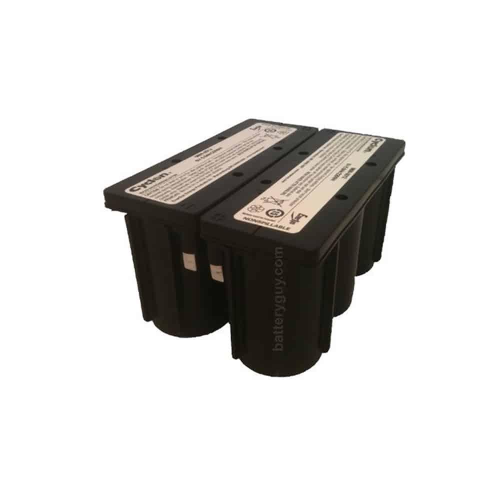Hawker/Cyclon/Enersys 0809-0020 Battery | 12v 5ah Emergency Light Battery