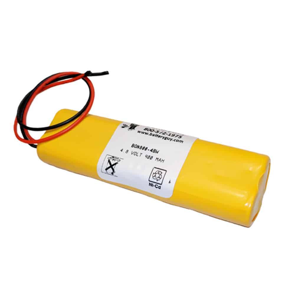 Nickel Cadmium Battery 4.8v 900mah | BGN800-4BWP (Rechargeable)