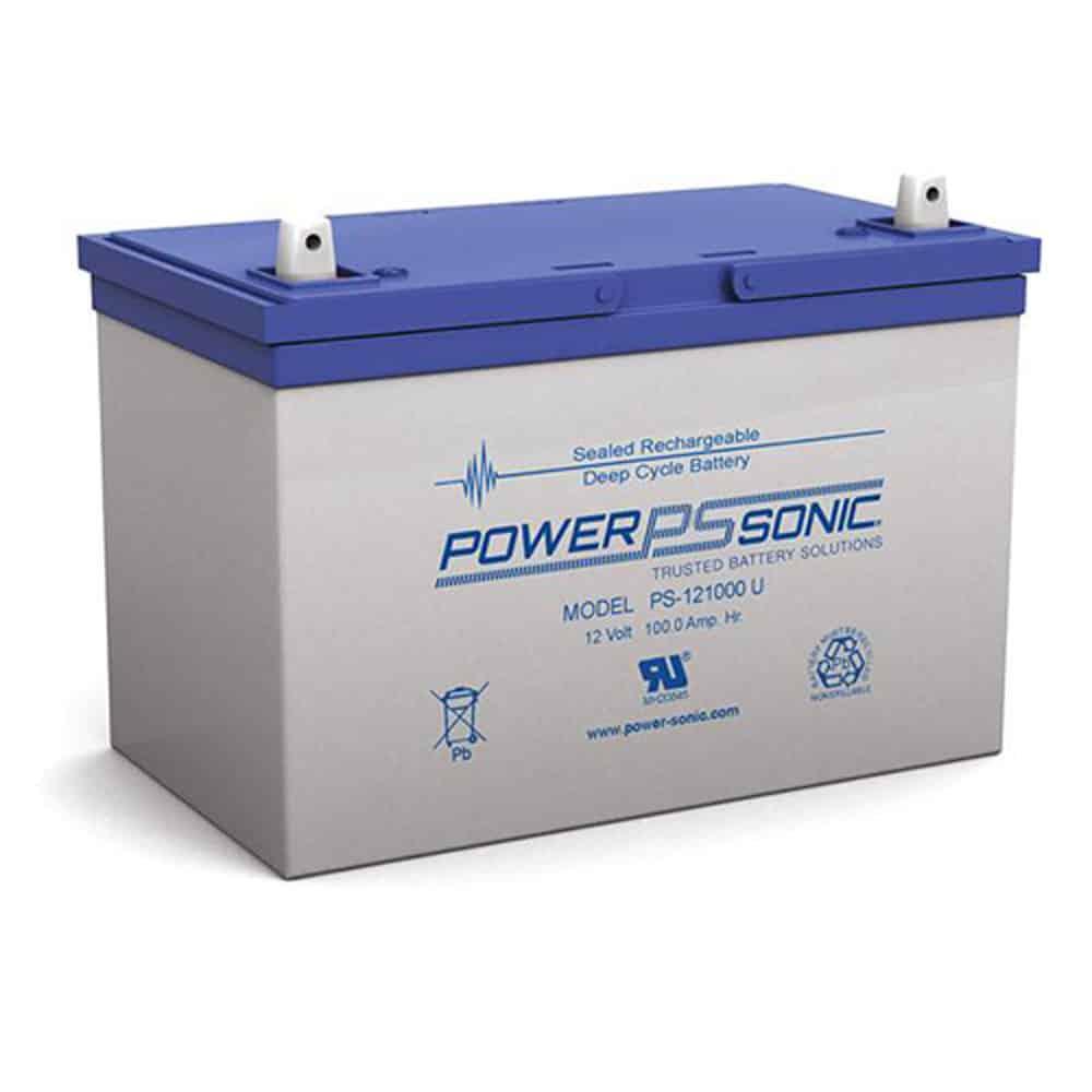 Power-Sonic PS-121000 | Rechargeable SLA Battery 12v 100Ah