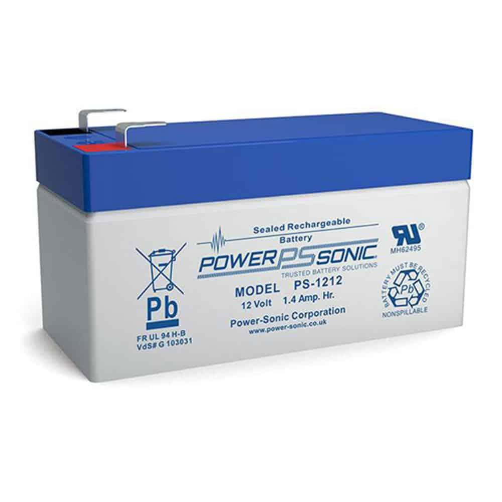 Power-Sonic PS-1212   Rechargeable SLA Battery 12v 1.4Ah