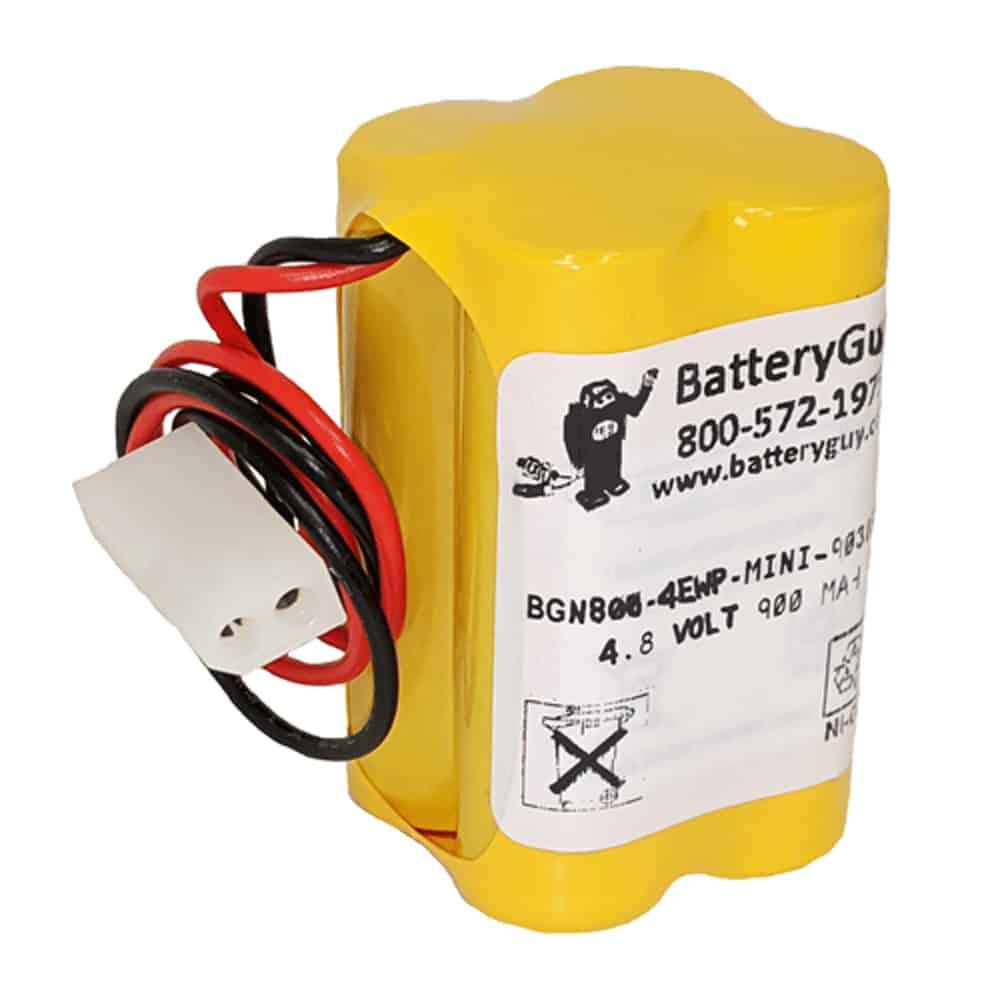 Nickel Cadmium Battery 4.8v 900mah   BGN800-4EWP-32016030M (Rechargeable)