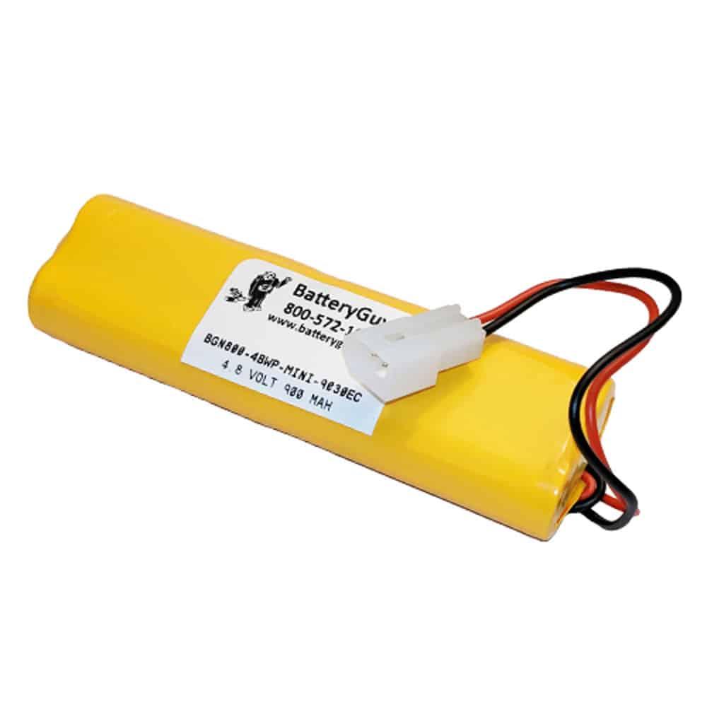 Nickel Cadmium Battery 4.8v 900mah | BGN800-4BWP-MINI-9030EC (Rechargeable)