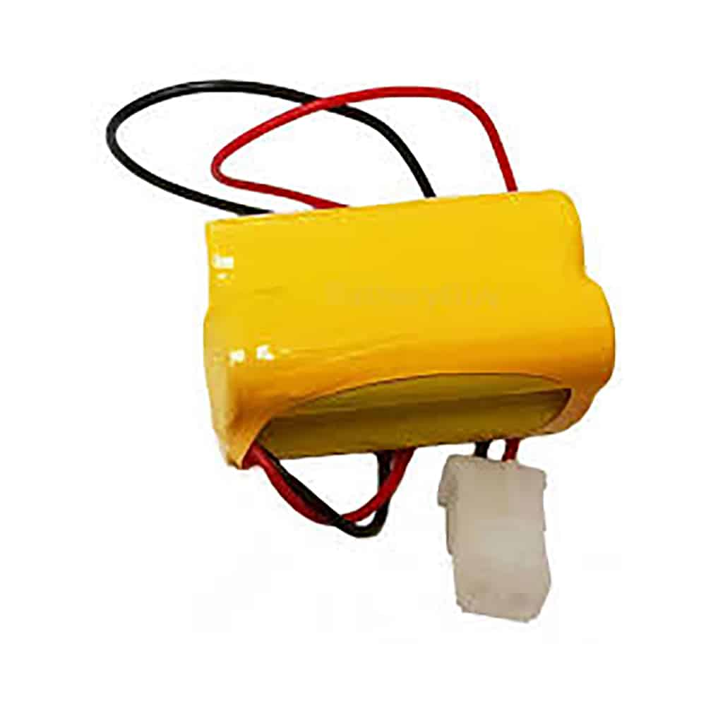 Nickel Cadmium Battery 4.8v 900mah with A800EC Connector | BGN800-4EWP-A800EC (Rechargeable)