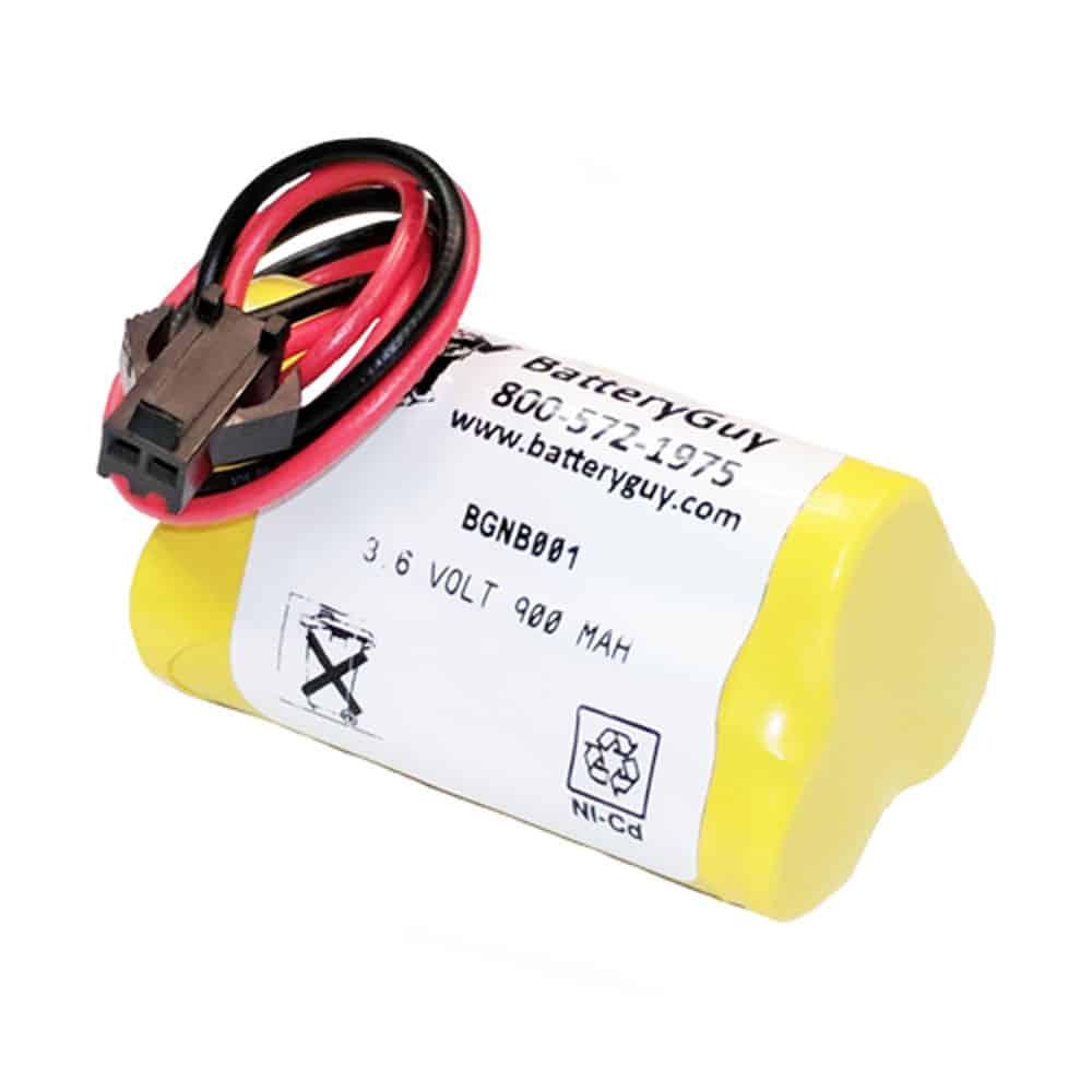 BGNB001 3.6 Volt 900 MAh NICAD Battery (Rechargeable)