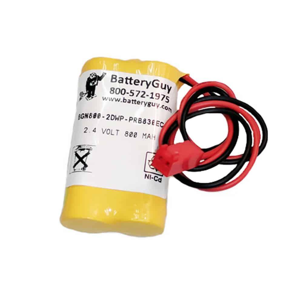 Nickel Cadmium Battery 2.4v 900mah | BGN800-2DWP-PRB830EC (Rechargeable)