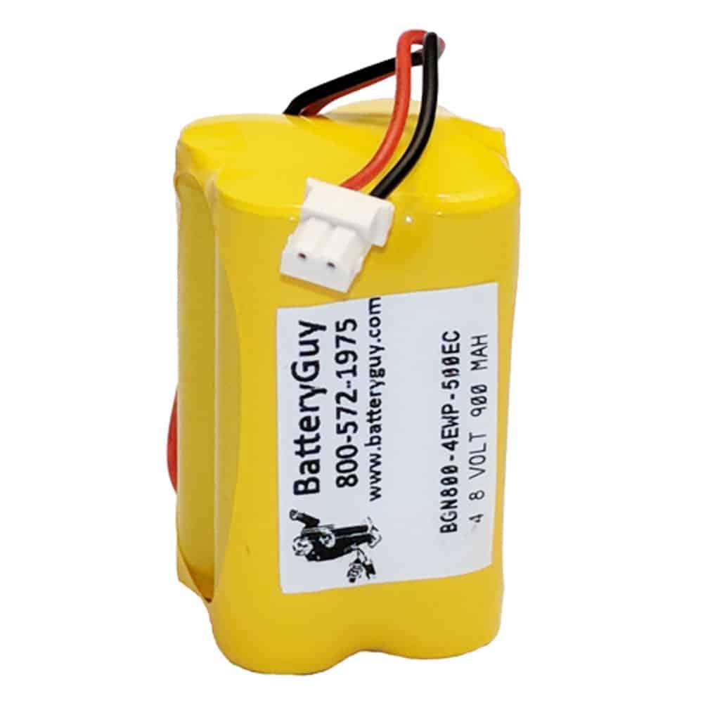 Nickel Cadmium Battery 4.8v 900mah with 500EC Connector | BGN800-4EWP-500EC (Rechargeable)