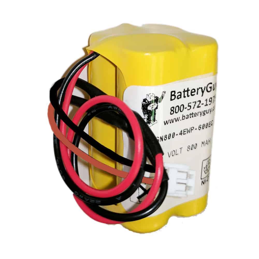 Nickel Cadmium Battery 4.8v 900mah with PR600EC Connector   BGN800-4EWP-PR600EC (Rechargeable)